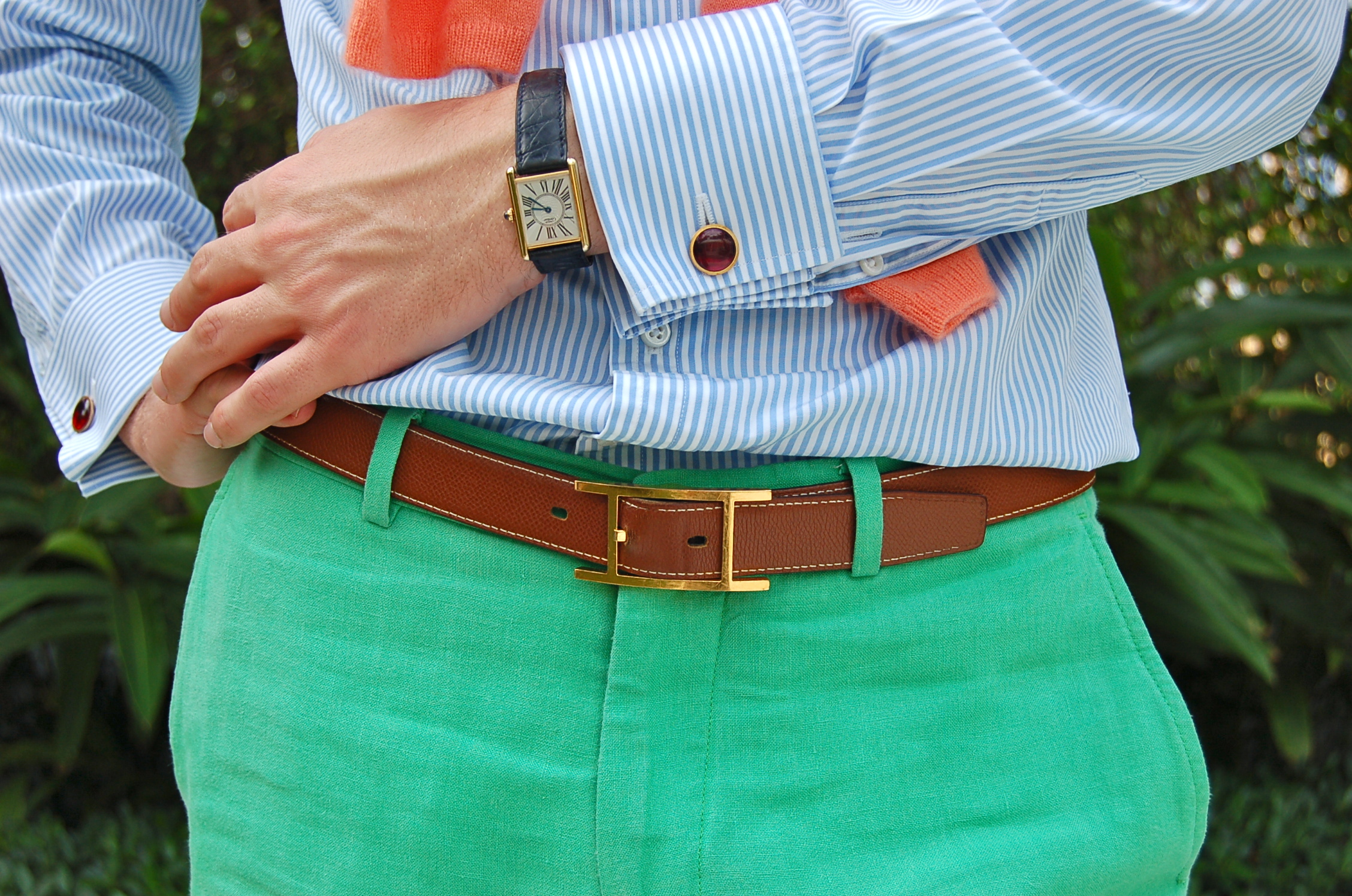 Shirts With Green Pants